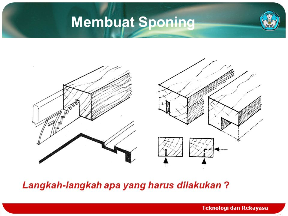 Membuat Sponing Langkah-langkah apa yang harus dilakukan