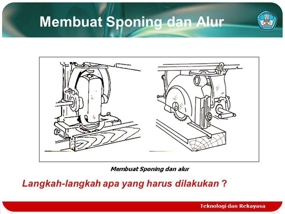Membuat Sponing dan Alur