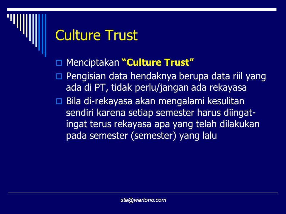 Culture Trust Menciptakan Culture Trust