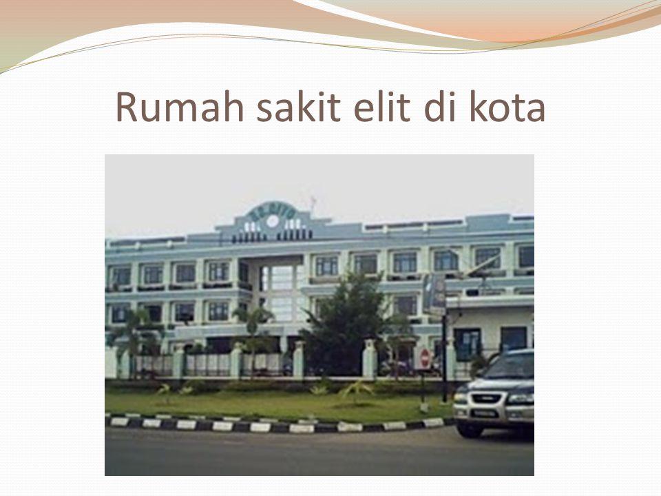 Rumah sakit elit di kota
