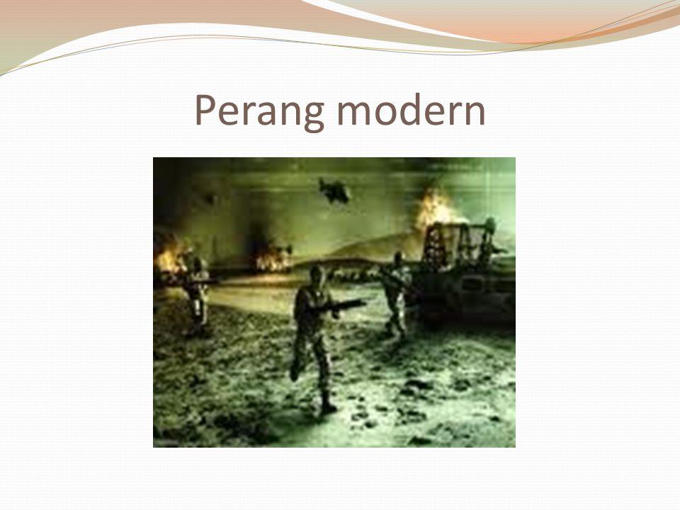 Perang modern