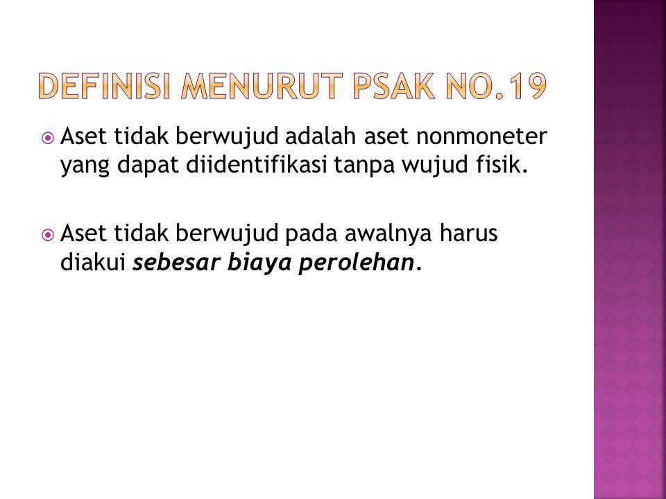 Definisi menurut psak no.19