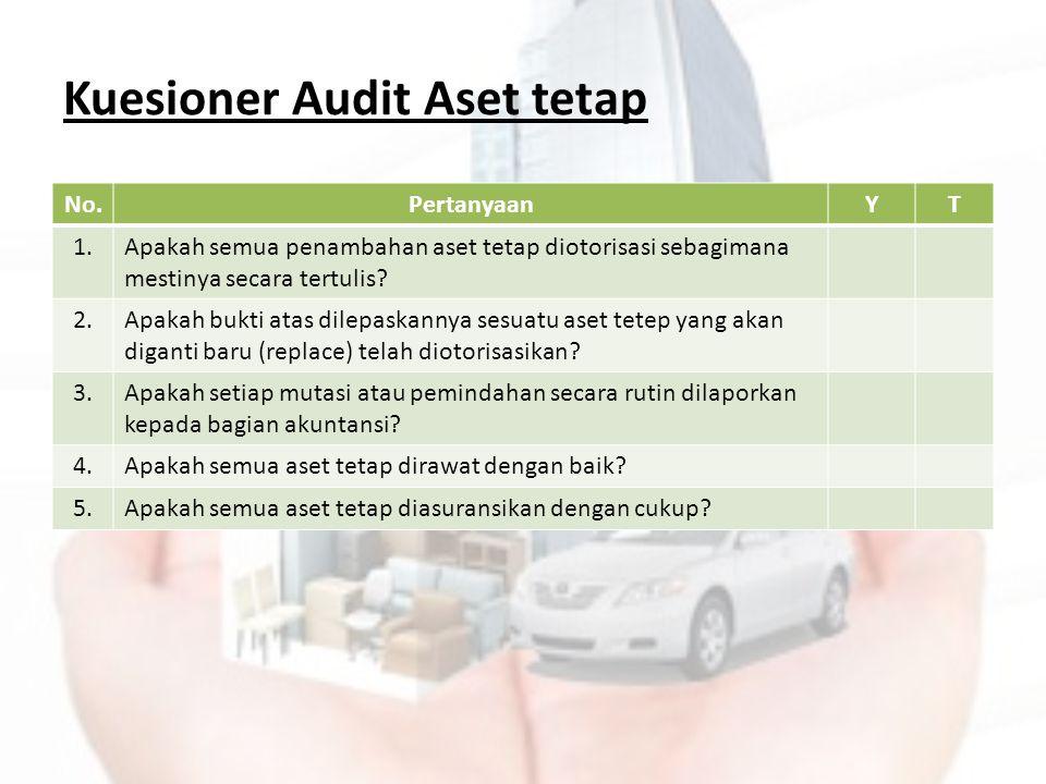Kuesioner Audit Aset tetap