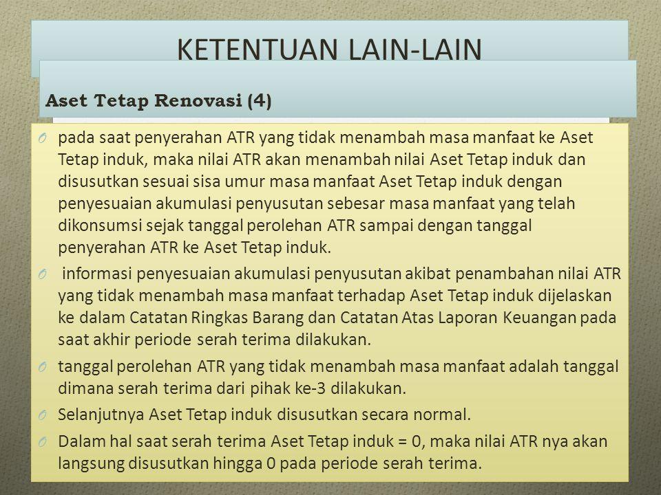 KETENTUAN LAIN-LAIN Aset Tetap Renovasi (4)
