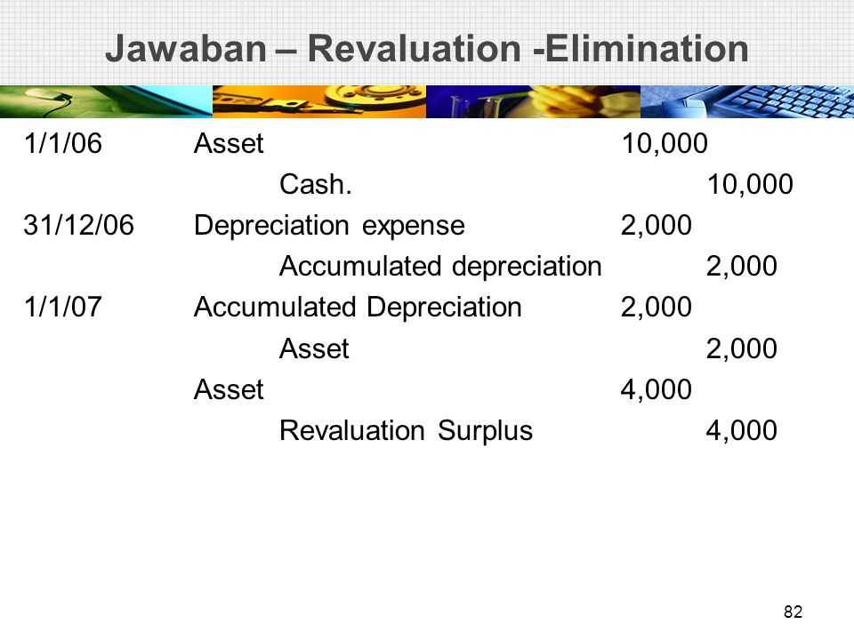 Jawaban – Revaluation -Elimination