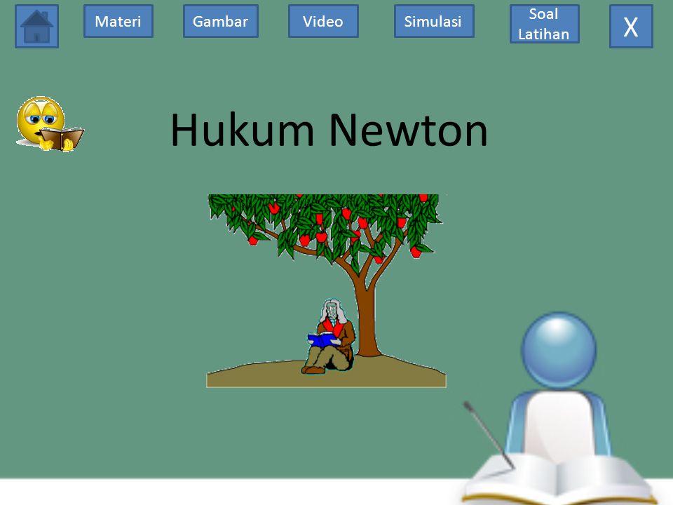 X Hukum Newton