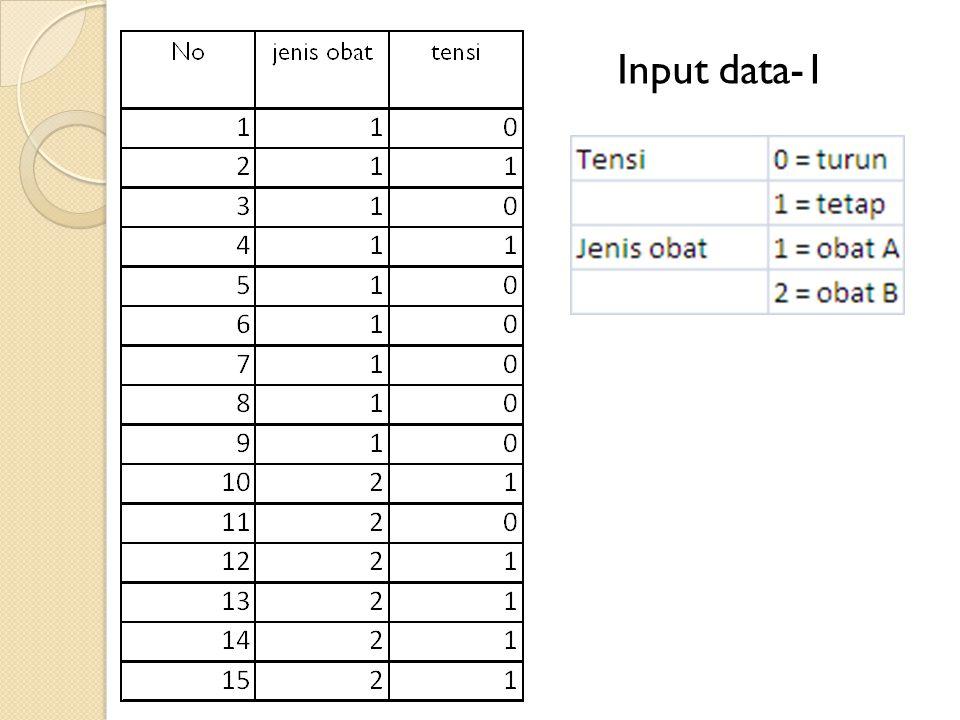 Input data-1