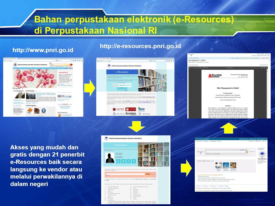 Bahan perpustakaan elektronik (e-Resources)