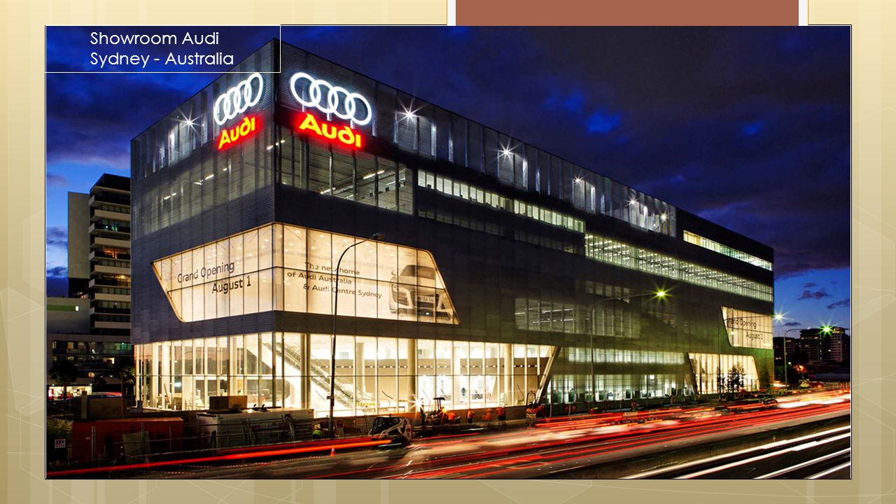 Showroom Audi Sydney - Australia Projects|Proyek