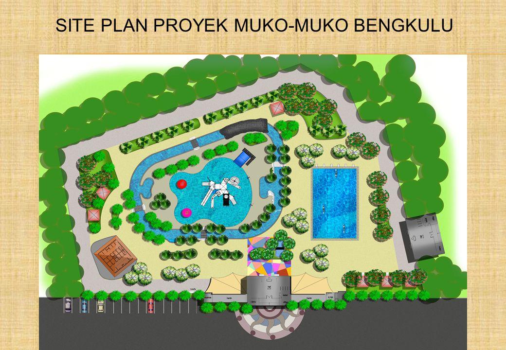 SITE PLAN PROYEK MUKO-MUKO BENGKULU