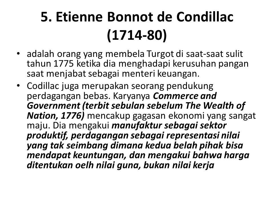 5. Etienne Bonnot de Condillac (1714-80)