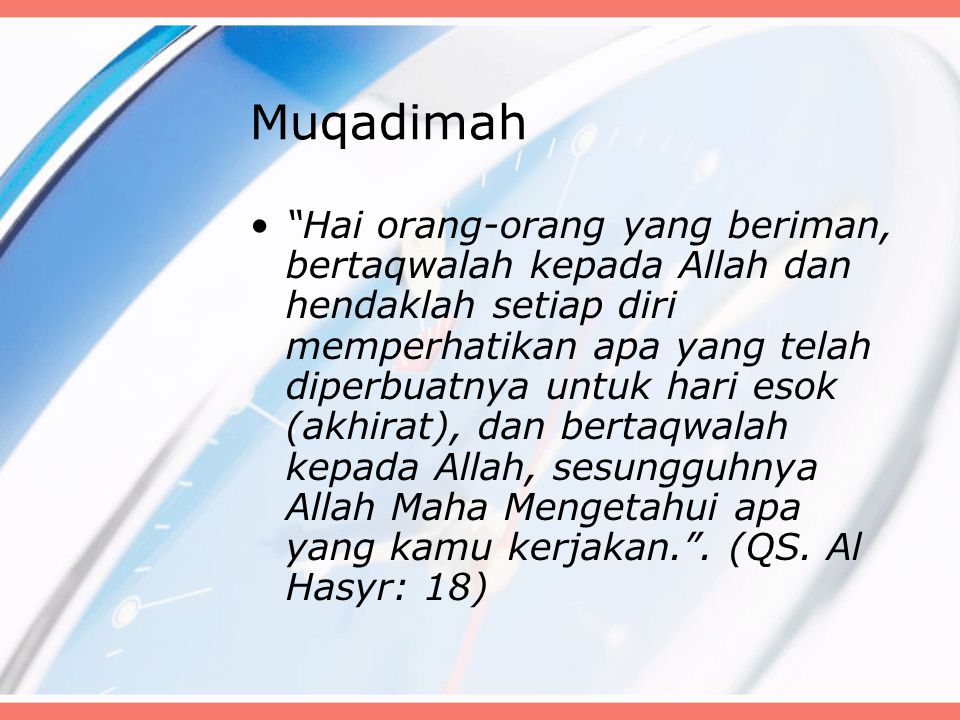 Muqadimah