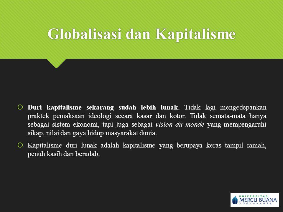 Globalisasi dan Kapitalisme