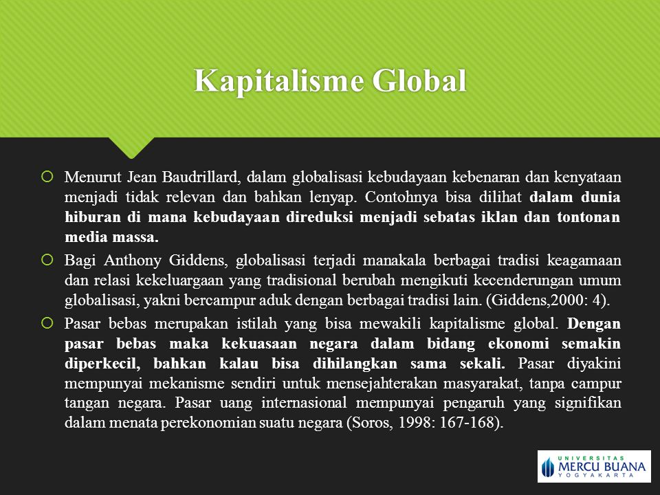 Kapitalisme Global