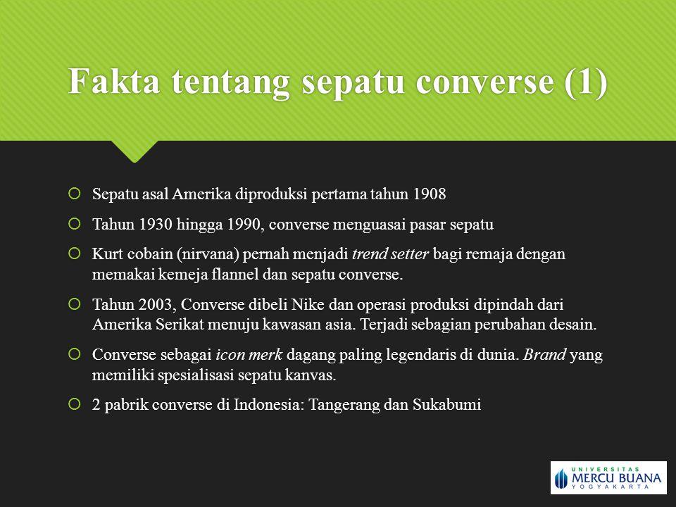 Fakta tentang sepatu converse (1)