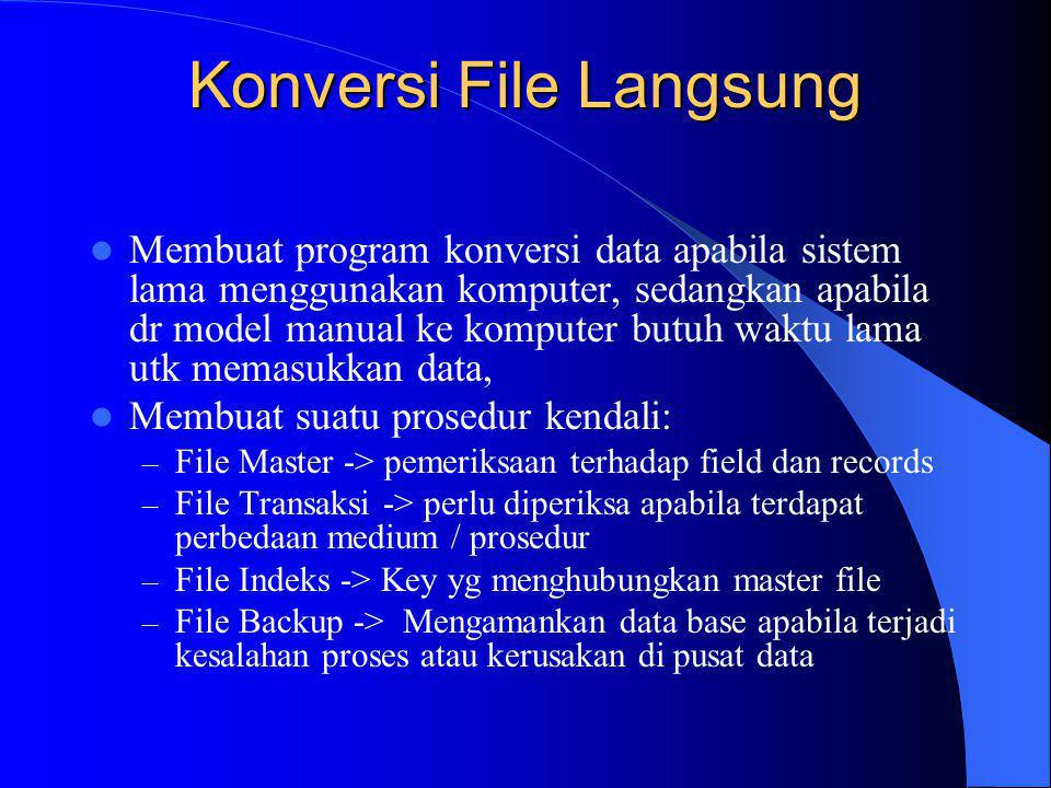 Konversi File Langsung