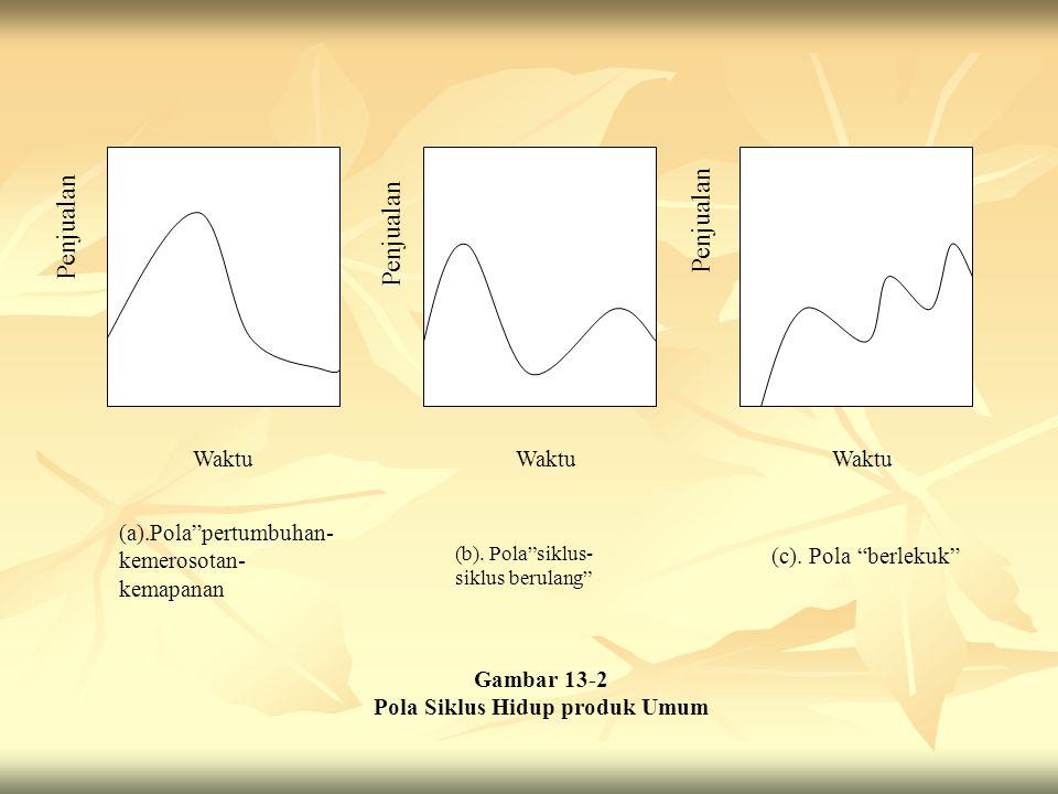 Pola Siklus Hidup produk Umum
