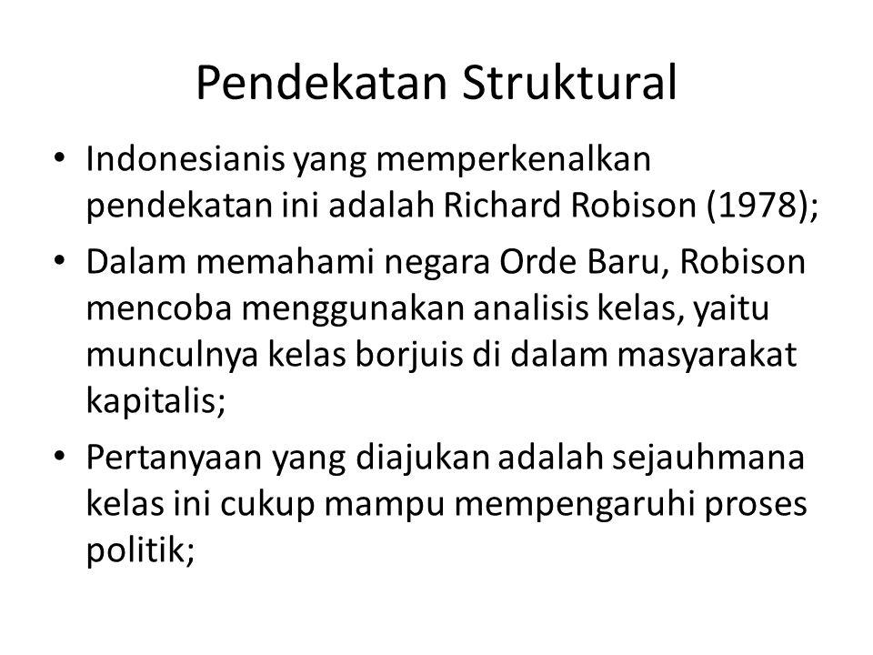 Pendekatan Struktural