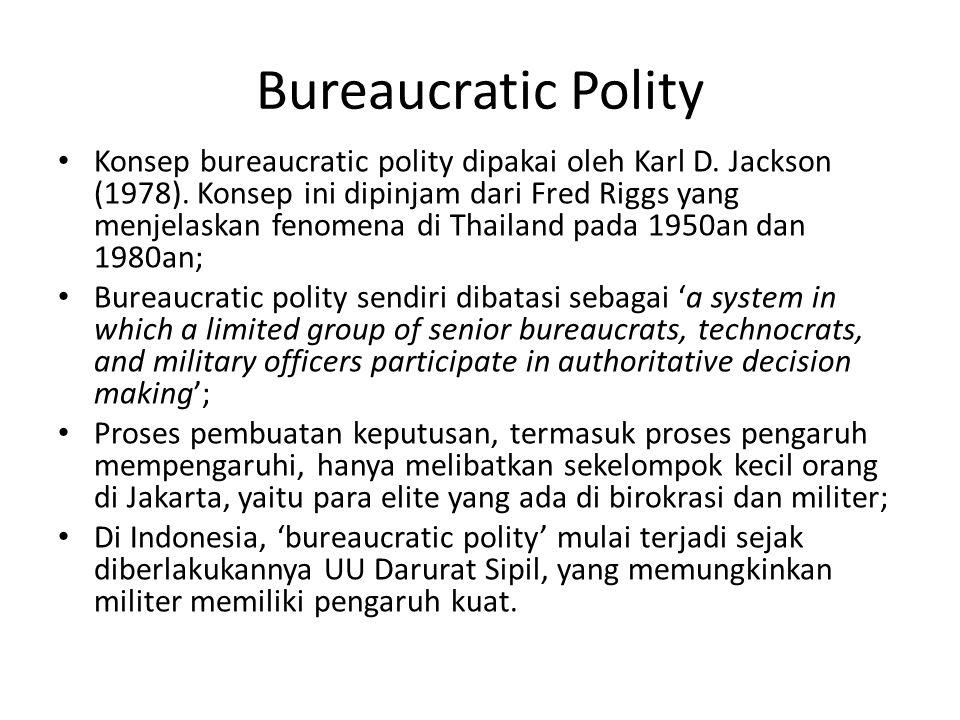 Bureaucratic Polity