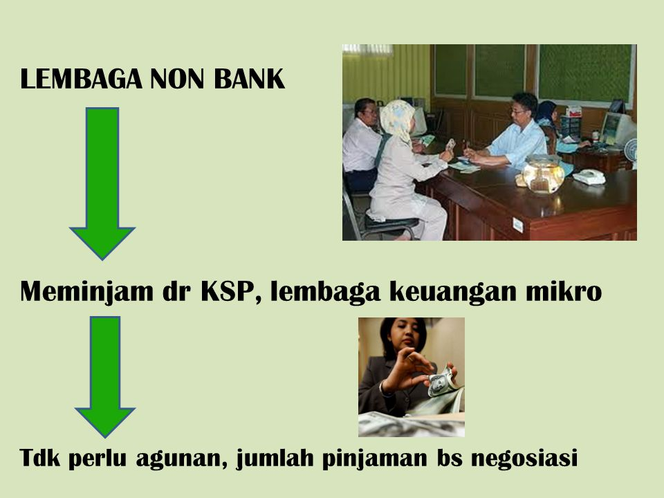 Meminjam dr KSP, lembaga keuangan mikro