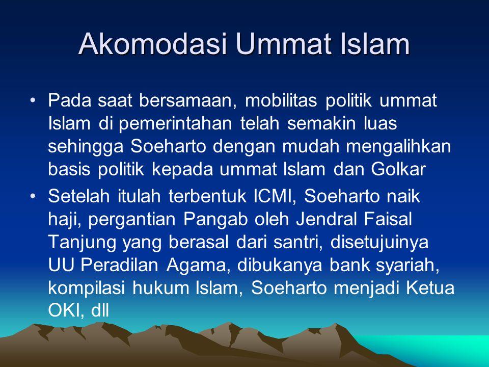 Akomodasi Ummat Islam