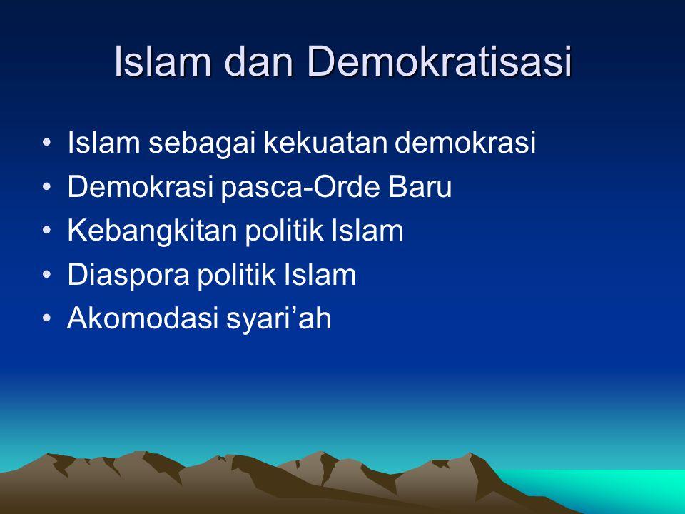 Islam dan Demokratisasi