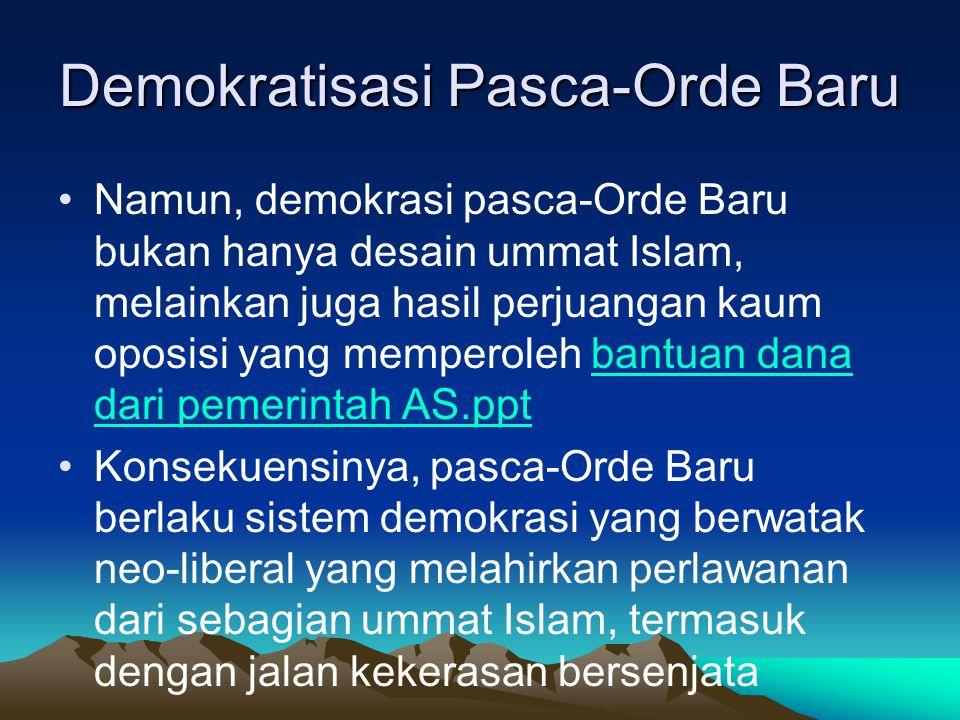 Demokratisasi Pasca-Orde Baru