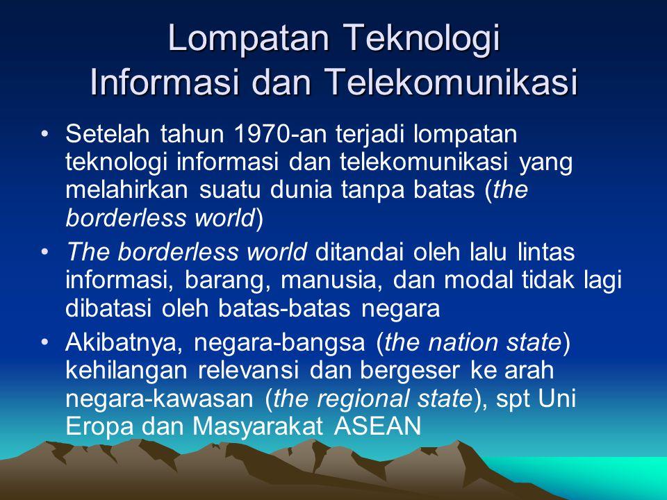 Lompatan Teknologi Informasi dan Telekomunikasi
