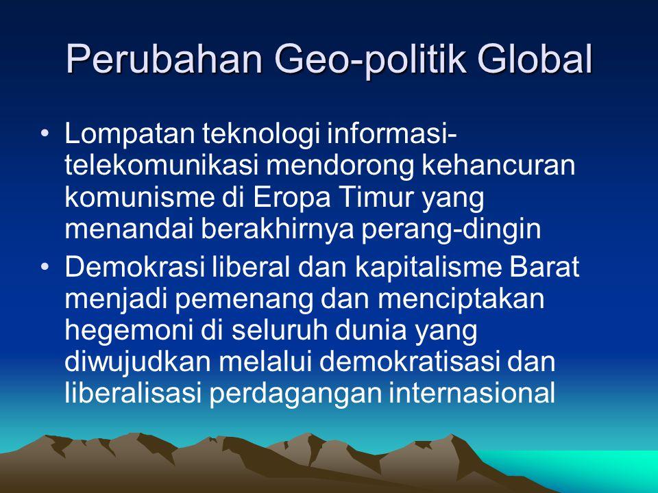 Perubahan Geo-politik Global