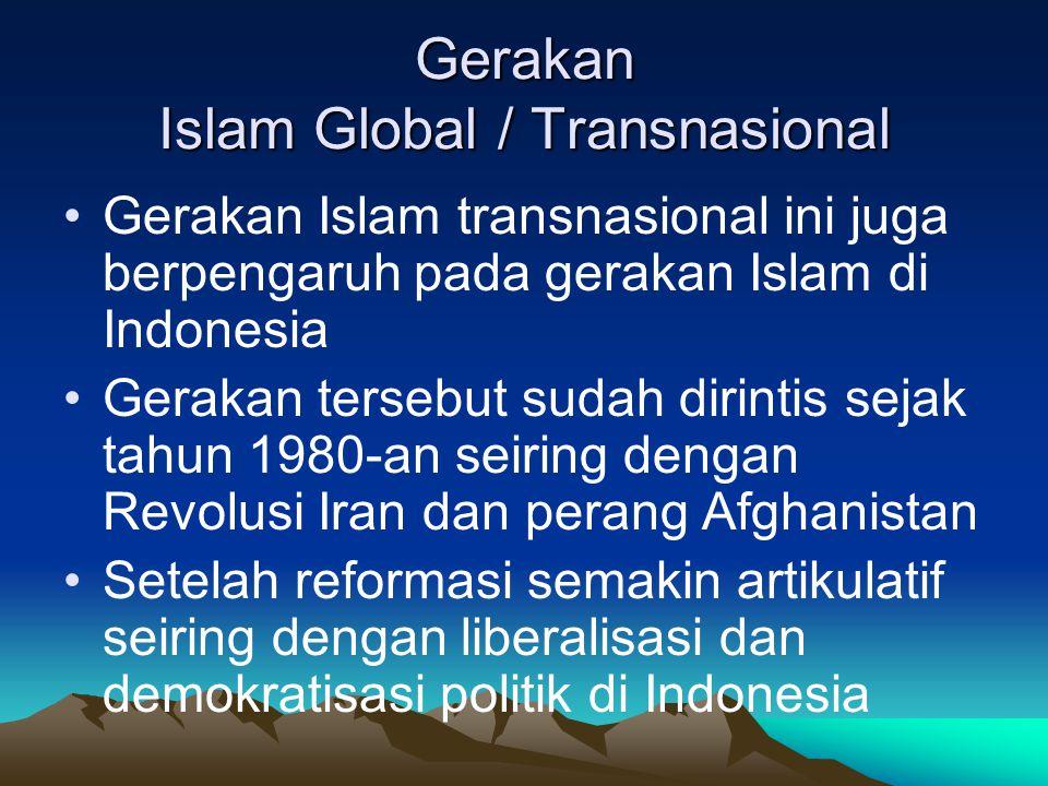 Gerakan Islam Global / Transnasional