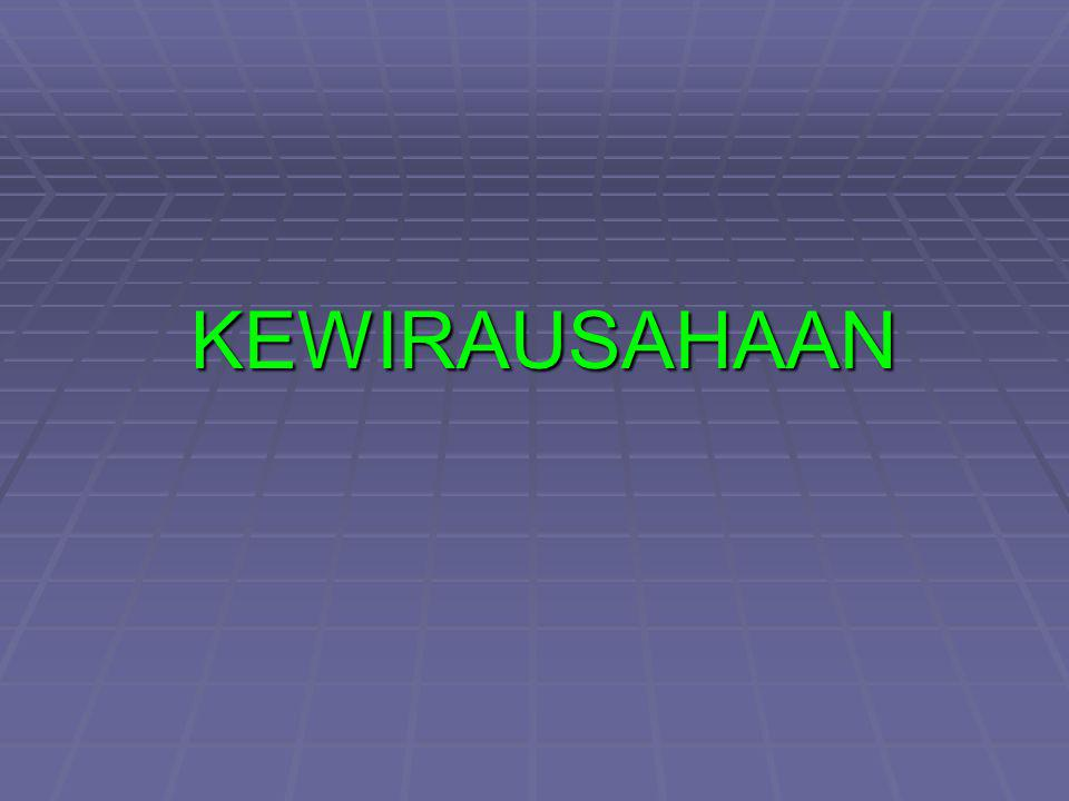 KEWIRAUSAHAAN