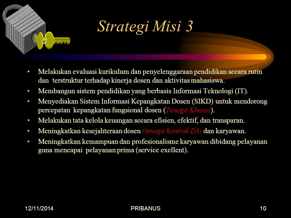 Strategi Misi 3