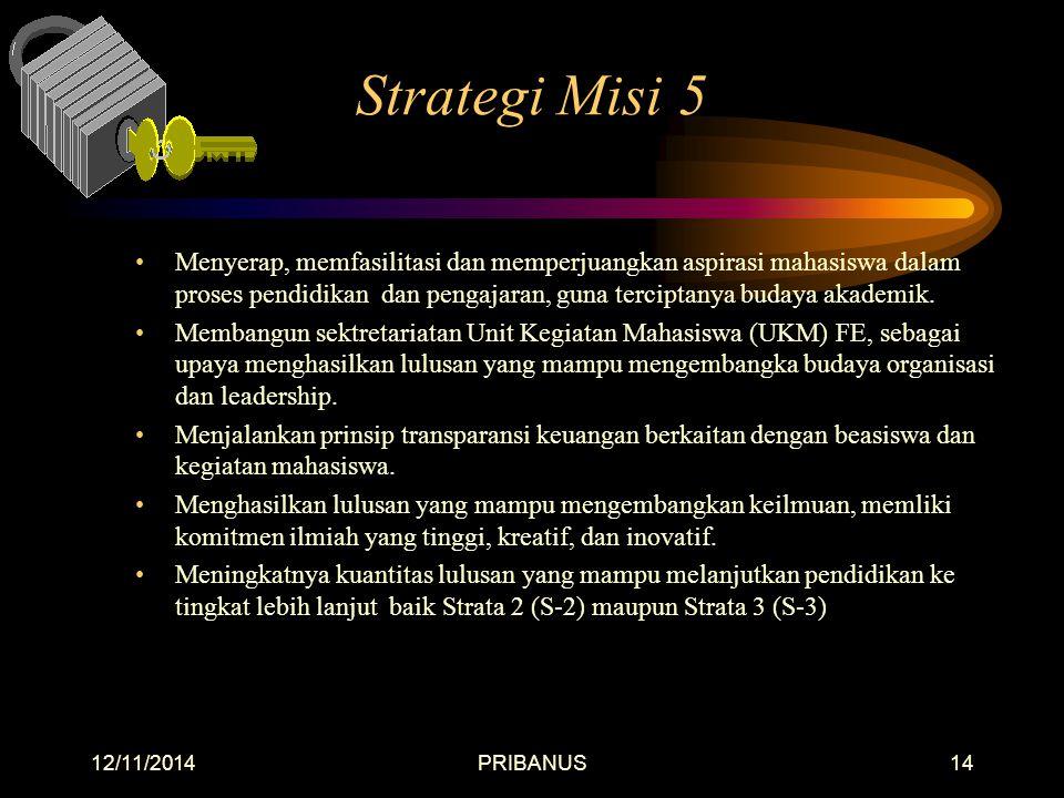 Strategi Misi 5