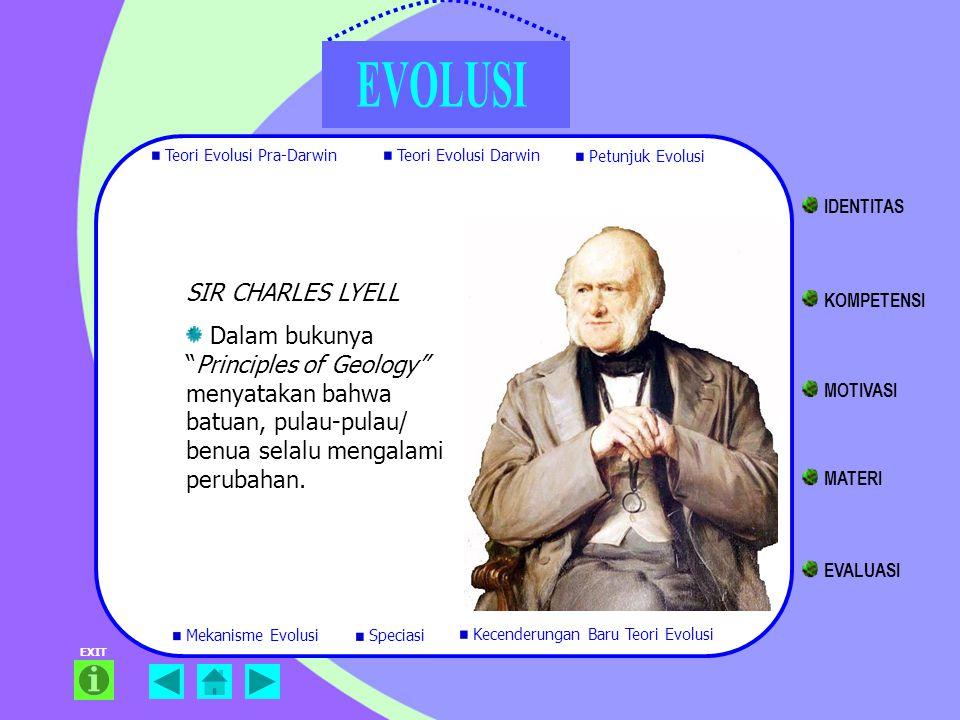 IDENTITAS SIR CHARLES LYELL KOMPETENSI