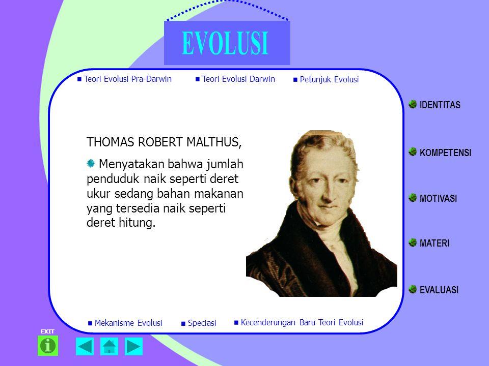 IDENTITAS THOMAS ROBERT MALTHUS,
