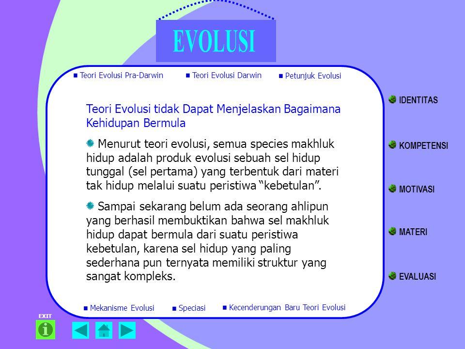Teori Evolusi tidak Dapat Menjelaskan Bagaimana Kehidupan Bermula