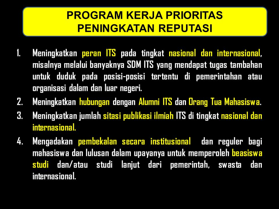 PROGRAM KERJA PRIORITAS