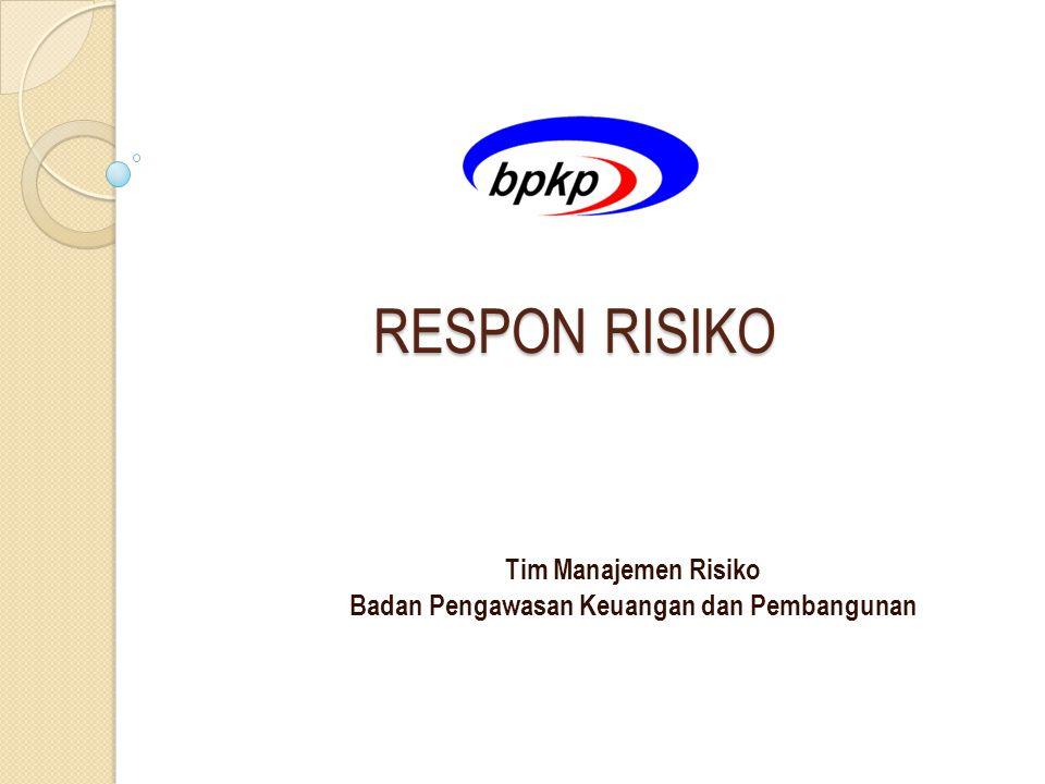 Tim Manajemen Risiko Badan Pengawasan Keuangan dan Pembangunan