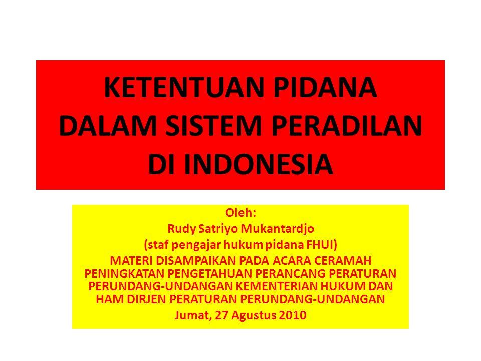 tesis sistem peradilan pidana