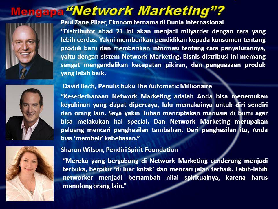 Mengapa Network Marketing