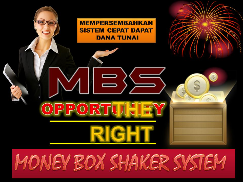 MONEY BOX SHAKER SYSTEM