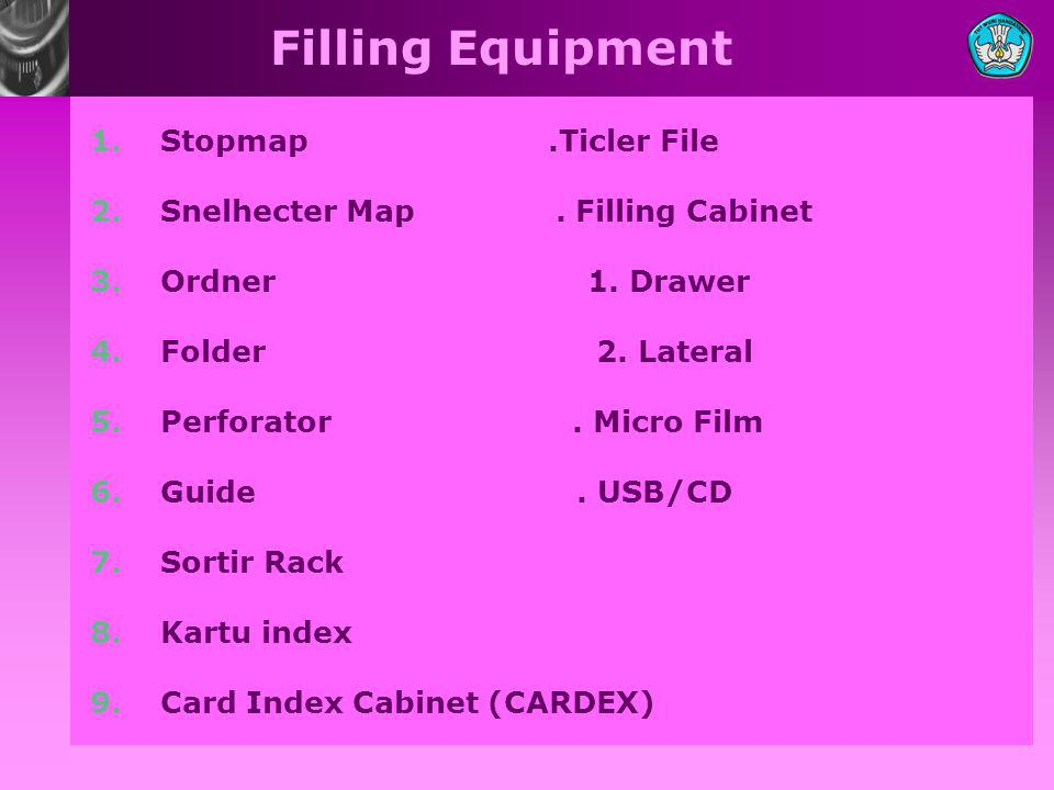 Filling Equipment Stopmap .Ticler File
