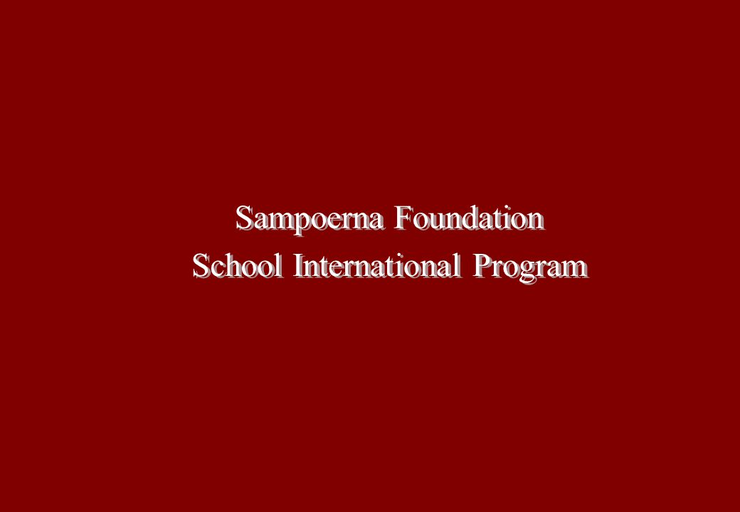 School International Program