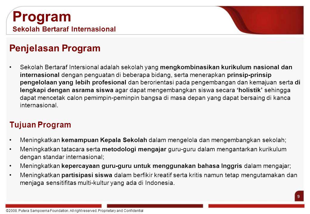 Program Sekolah Bertaraf Internasional