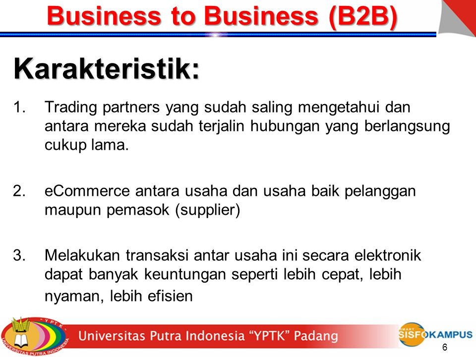 Business to Business (B2B)