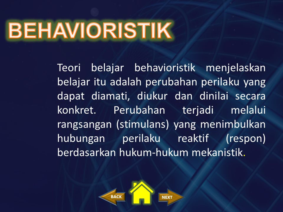 BEHAVIORISTIK