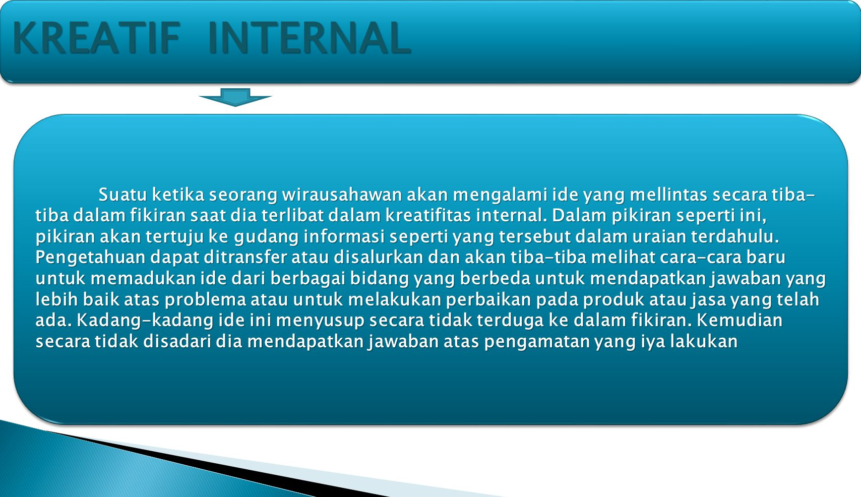 KreatiF internal