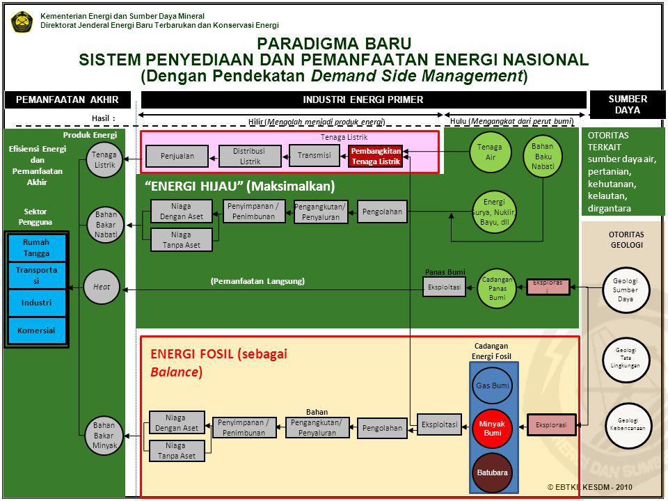 PARADIGMA BARU SISTEM PENYEDIAAN DAN PEMANFAATAN ENERGI NASIONAL (Dengan Pendekatan Demand Side Management)