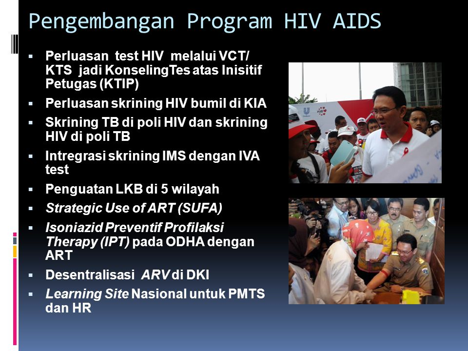 Pengembangan Program HIV AIDS