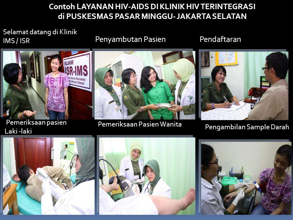 Contoh LAYANAN HIV-AIDS DI KLINIK HIV TERINTEGRASI